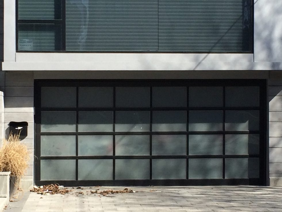 Frosted-Glass-Garage-Doors