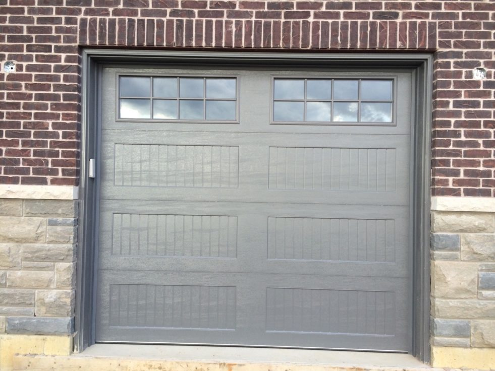 Charcoal-Colour-Garage-Door